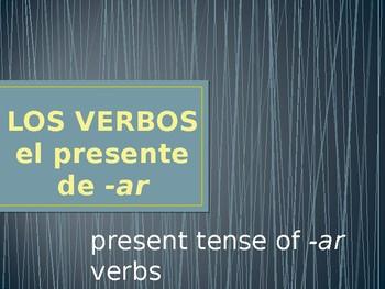 Present (-ar Verbs)