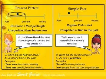 Present perfect Vs. simple past