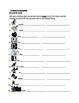 Present progressive Portuguese verbs worksheets