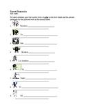 Presente progresivo (Present progressive in Spanish) worksheets 2