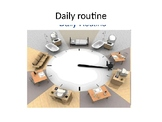 Present simple - daily routine - frequency PPT