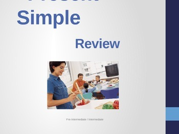 Present simple review - powerpoint
