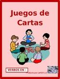 ER Verbs in Spanish Verbos ER Present tense Concentration games