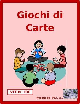 IRE verbs Presente (Present tense in Italian) Concentration games