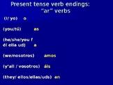 Present tense (regular verbs) ppt