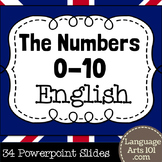 Teach the Numbers 1-10 in English | Powerpoint