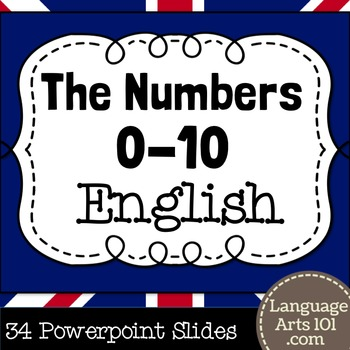 Teach the Numbers 1-10 in English   Powerpoint