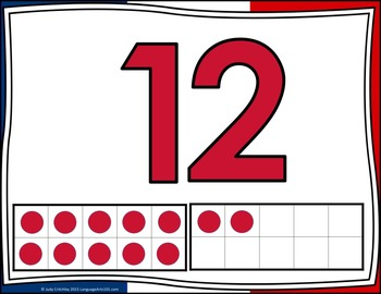 Present the Numbers 0-20 French | Présenter les nombres 0-20 Français