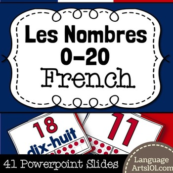 Present the Numbers 0-20 French | Présenter les nombres 0-