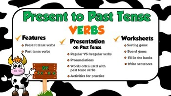 Present to Past Tense Verbs