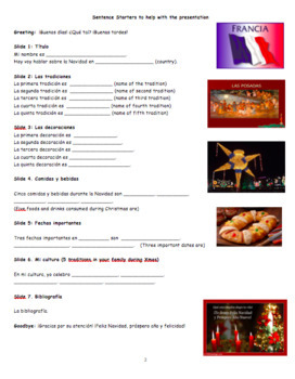 Presentación oral: ¡Navidad alrededor del mundo! / Christmas around the world