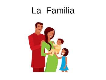 Presentacion y Juego La Familia (Family PP Presentation and Game)