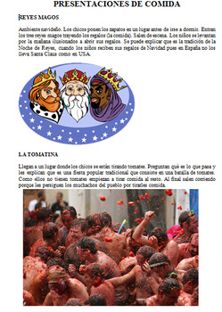 Presentaciones de comida - Espana