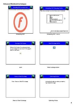 Presentation-Advanced Smart Notebook Technique Handouts