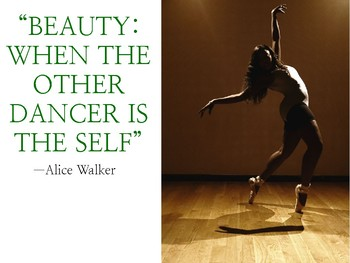 "Presentation: Alice Walker's ""Beauty: When the Other Dancer Is the Self"""