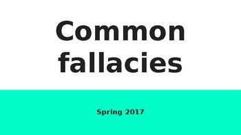Presentation: Common Fallacies