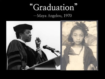 graduation by maya angelou answers