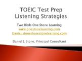 Presentation/Handout-  TOEIC Test Prep Listening Strategies