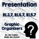Presentation Informational Text Graphic Organizers RI.3.7 RI.4.7 RI.5.7