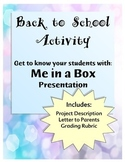 Back to School Presentation - Directions & Rubric