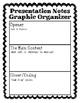 Presentation Notes Graphic Organizer