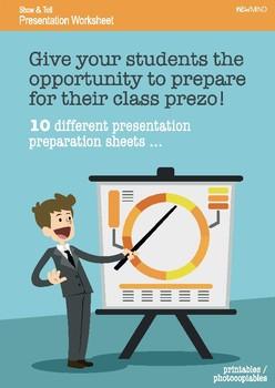 Presentation Preparation Activities
