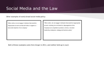 Presentation: Professional Communication and Social Media