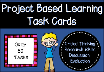 Presentation Project-Based Learning Task Cards