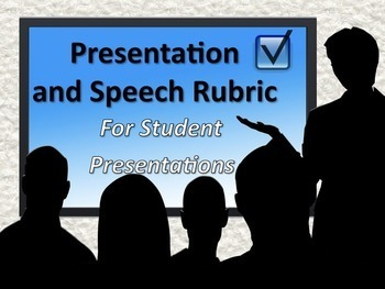 Public Speaking Rubric for Speeches and Presentations