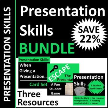 Presentation Skills Activities