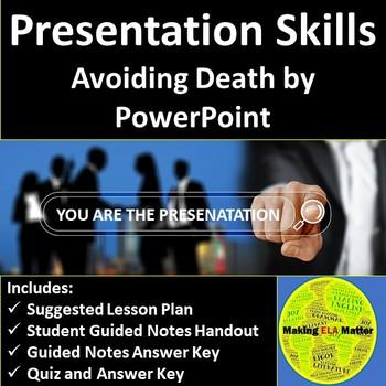Presentation Skills: Avoiding Death by PowerPoint