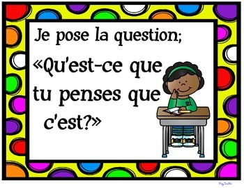 Presentation Skills Posters - Montre et Raconte