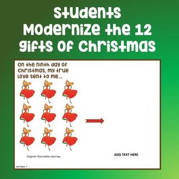 Presentation Skills: Twelve Days of Christmas