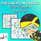 Presentation Skills: 2018 Winter Olympics Match Up