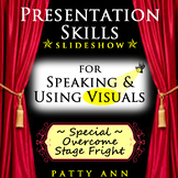 Oral Communication Presentation Skills Guide: Public Speaking Tips+Using Visuals