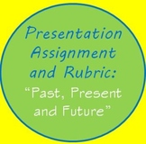 Presentation Speech Assignment & Rubric Your Past Present Future ESL Speaking
