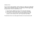 Presentation Task Cards (Single Point Rubrics)