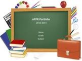 Digital APPR Portfolio Presentation Template for Danielson