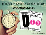 Presentation Time Keeper Cards