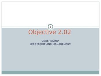 Presentation - Understanding Leadership and Management