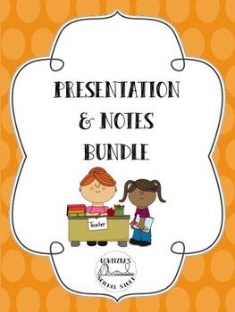 Presentation and Notes Bundle