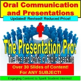 Public Speaking: The Presentation Pro for avid learners
