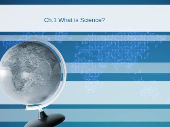 Presentation for Ch.1 Physical Science Pearson Textbook