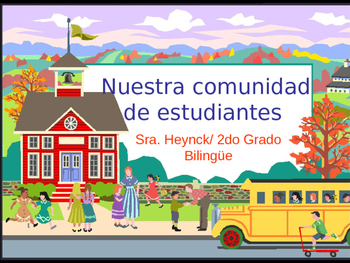 Presentation for curriculum night in Spanish for 2nd grade.