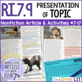 Presentation of Topic by Multiple Authors RI.7.9   Service Dogs Article #7-17