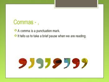 Presentation on Commas