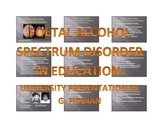 Presentation on Developmental Disorder: Fetal Alcohol Spec
