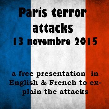 Presentation on Paris terror attacks