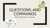 Presentation on Questions and Commands