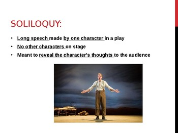 Presentation on Soliloquies, Monologues, and Asides